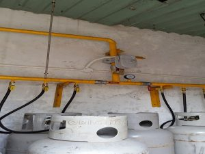VianPool Gas explosion prevention alarm system - Schindler plant