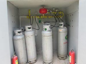 VianPool Gas system installation - International Spring School SSG