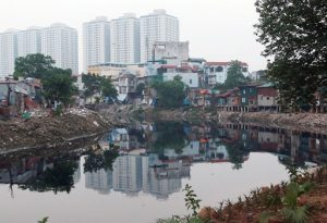 Waste water treatment in trade villages: There are still many shortcomings